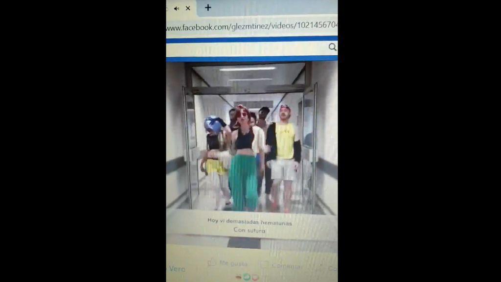 """""""El tumor no tiene cura... este tío va pa' la sepultura"""", el vídeo de unos residentes del HUCA que indigna a los pacientes"""