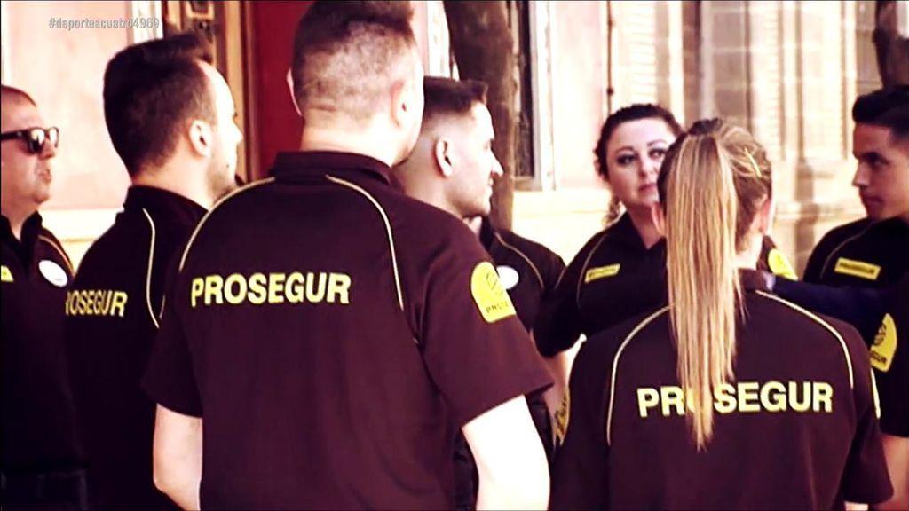 El espectacular despliegue en la Catedral  de Sevilla para la boda de Ramos y Pilar Rubio