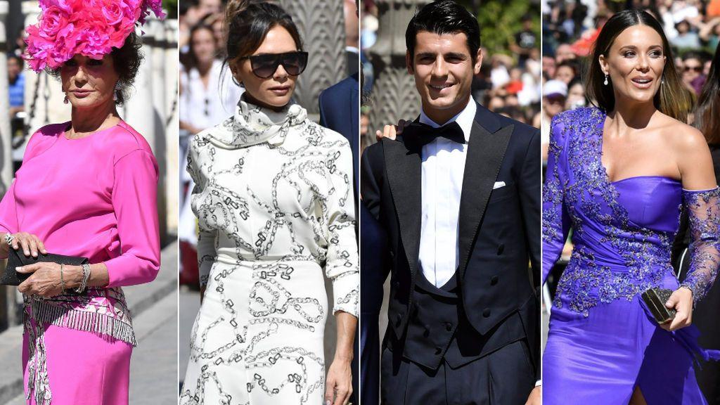 Aciertos y errores de los invitados a la boda de Pilar Rubio y Sergio Ramos