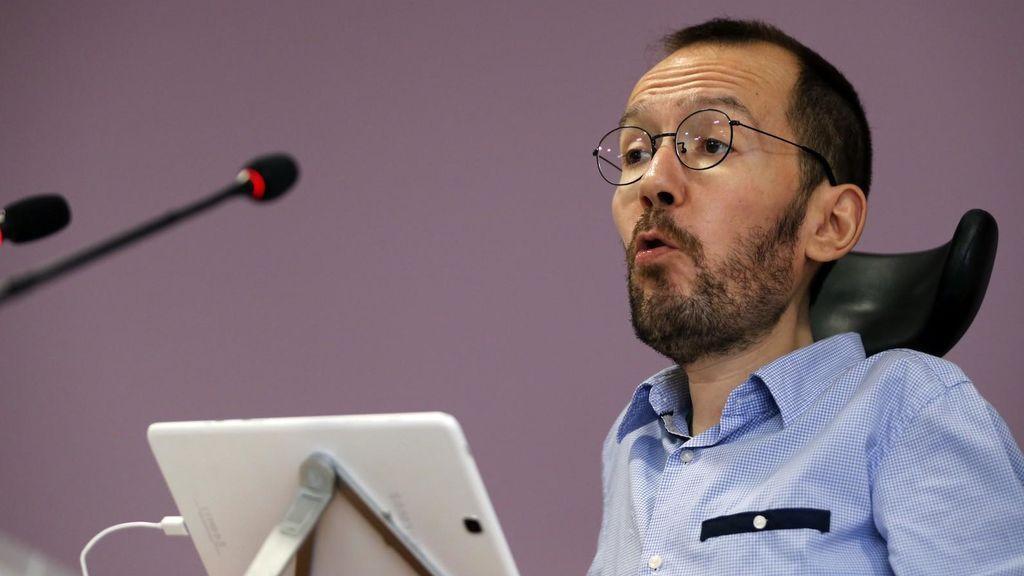 Demandan a Echenique por decir que la candidata de Podemos en Ávila condenada por asesinato fue violada