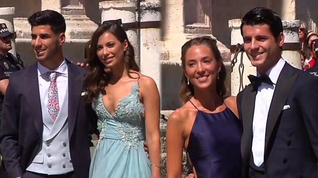 Joaquín, Morata, Asensio… Todos los futbolistas entrando a la boda de Sergio Ramos y Pilar Rubio