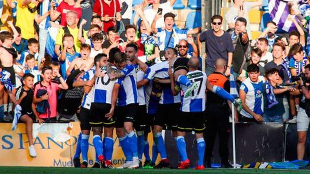 Logroñés y Hércules empatan sin goles en Las Gaunas y dan el pase a la siguiente fase a los alicantinos (0-0)
