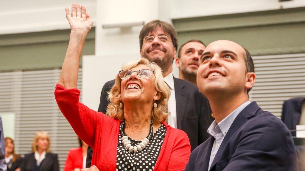 Manuela Carmena presentará este lunes su renuncia al acta de concejala