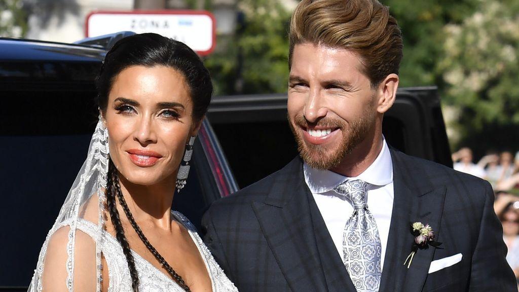 Aciertos y errores de Pilar Rubio y Sergio Ramos en su boda