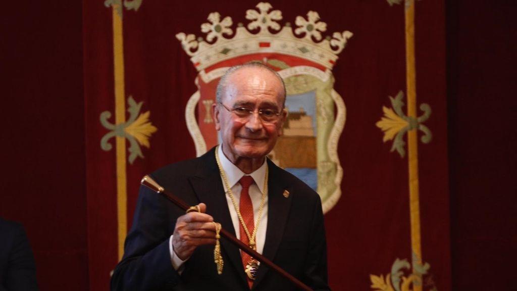 Francisco de la Torre, reelegido alcalde de Málaga