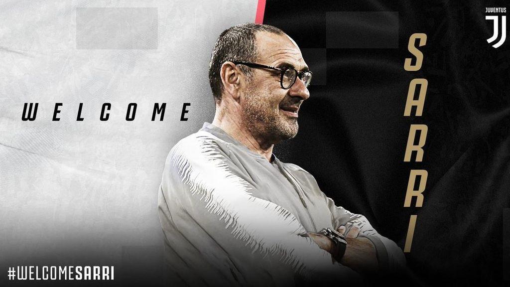 Maurizio Sarri, nuevo entrenadaor de la Juventus