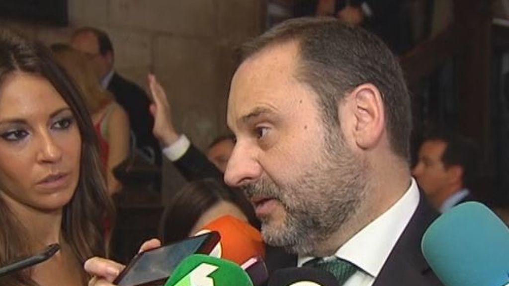 """Ábalos: """"es una broma hablar de pacto de la libertad en Madrid"""""""