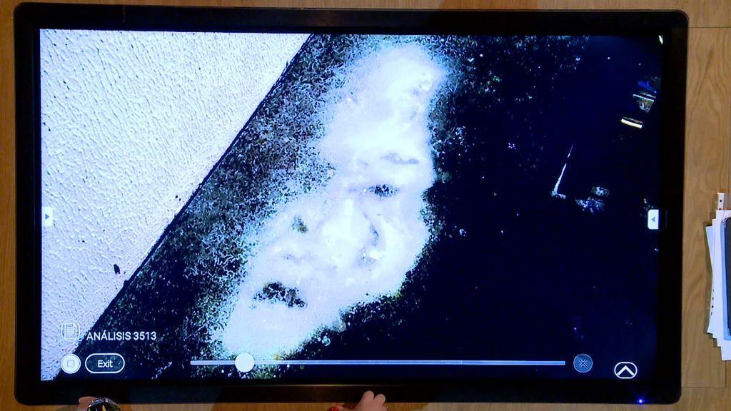 La mancha en el suelo que recuerda al rostro del rey del pop, Michael Jackson