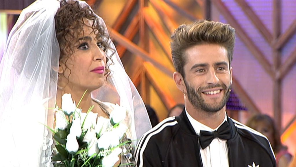 Cristina Rodríguez y Pelayo Díaz se casaron en 'Cámbiame'
