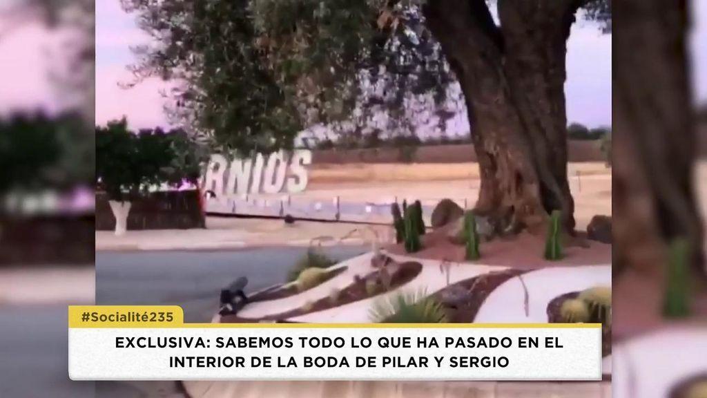 Las imágenes del interior de la finca en la que Sergio Ramos y Pilar Rubio celebraron su boda