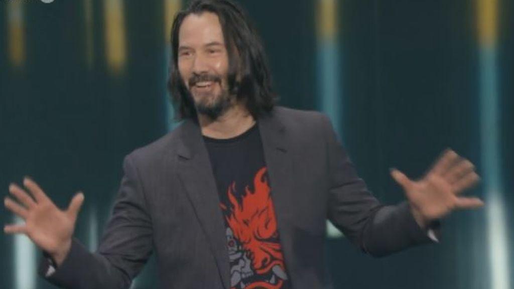 Keanu Reeves en el E3