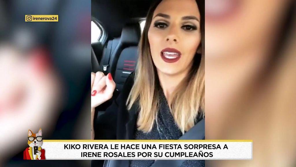 Kiko Rivera le hace una fiesta sorpresa a Irene Rosales por su cumpleaños