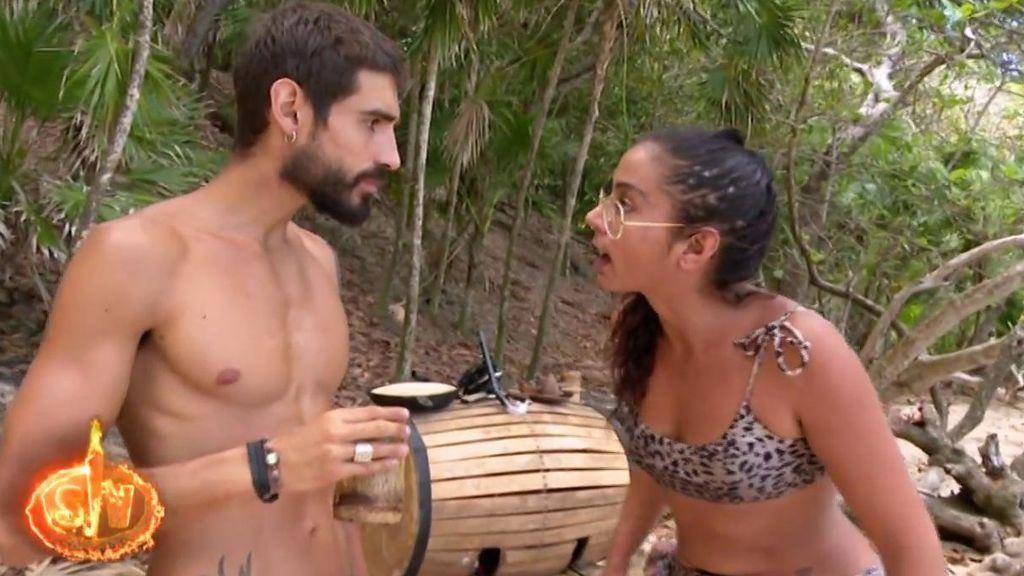 """Fabio y Dakota se pelean tras la ausencia de Violeta: """"Eres un Violeto"""""""