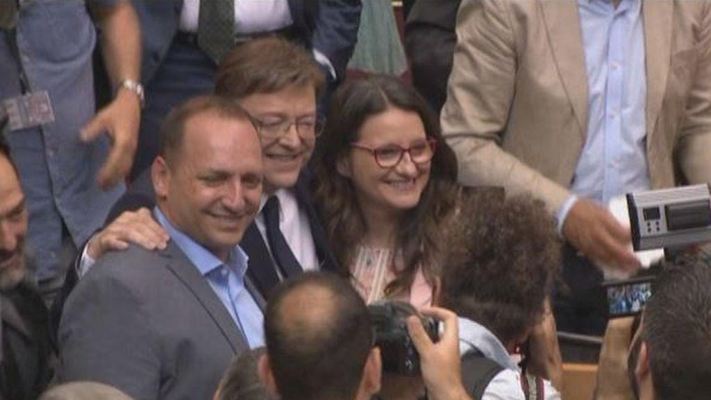 Ximo Puig toma posesión como presidente de la Generalitat valenciana