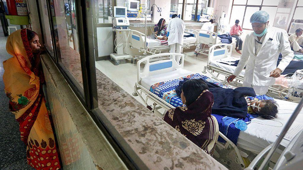 Mueren 100 niños por encefalitis en India