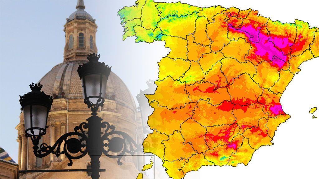 Noches tropicales y 38ºC a la sombra: más calor en Teruel que en Sevilla los próximos días