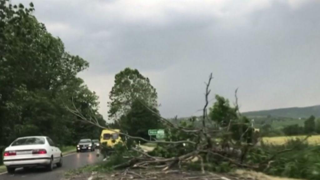 Las fuertes tormentas en Francia dejan un muerto