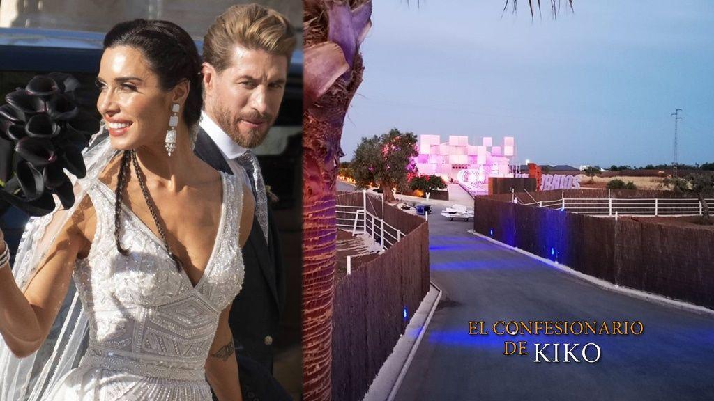 Los secretos de la boda de Pilar Rubio y Sergio Ramos al descubierto