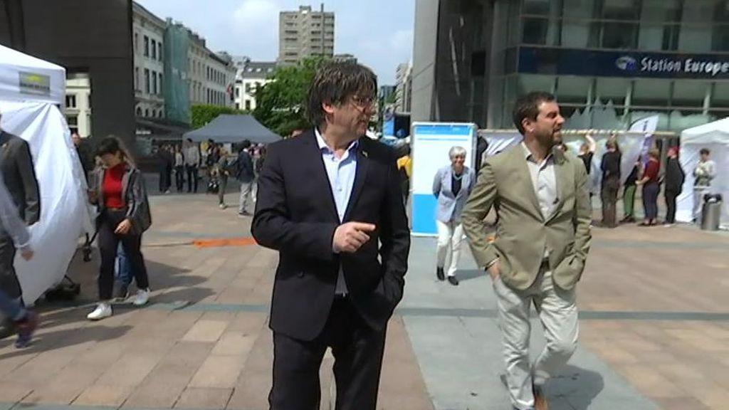 Puigdemont y Junqueras se quedan sin acta de eurodiputados