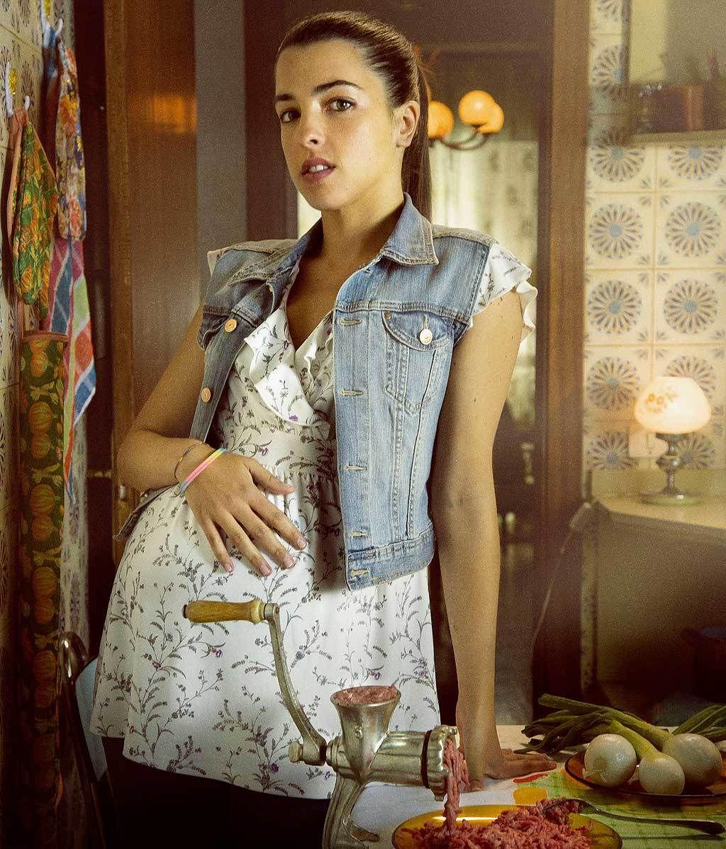 Virginia Torres: la más joven, 30 años, casada, embarazada de 8 meses