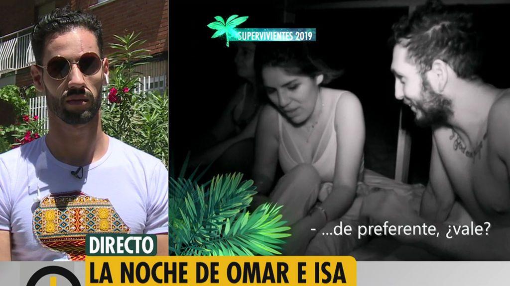 """Asraf, sobre la noche de Omar e Isa Pantoja: """"Se hace el bueno en la televisión"""""""