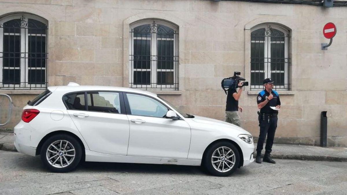 El alcalde de Orense se estrena con una multa de aparcamiento