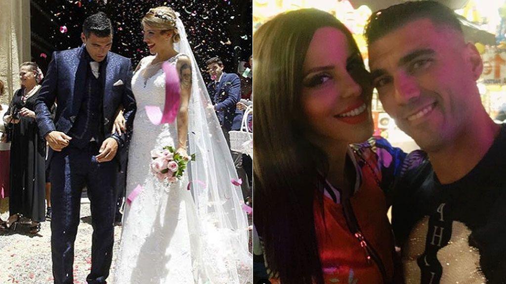 La recuerdo de la mujer de José Antonio Reyes en el segundo aniversario de su boda