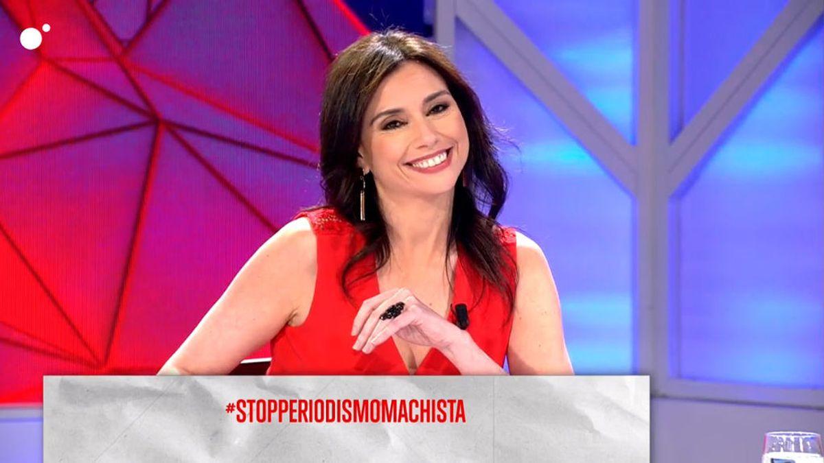 Marta Flich protagoniza el TT StopPeriodismoMachista en Todo es mentira