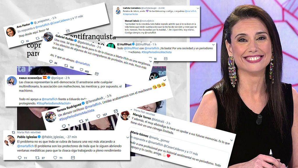 #StopPeriodismoMachista, la campaña online de apoyo a Marta Flich
