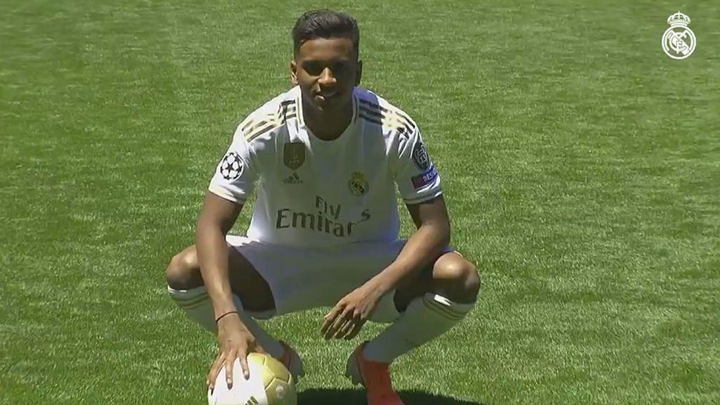 """Rodrygo: """"Espero dar muchas alegrías en el Real Madrid"""""""