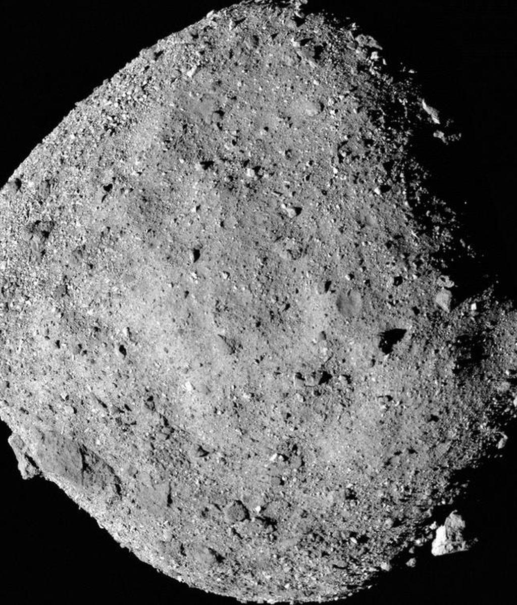 La vista más cercana hasta el momento del asteroide Bennu