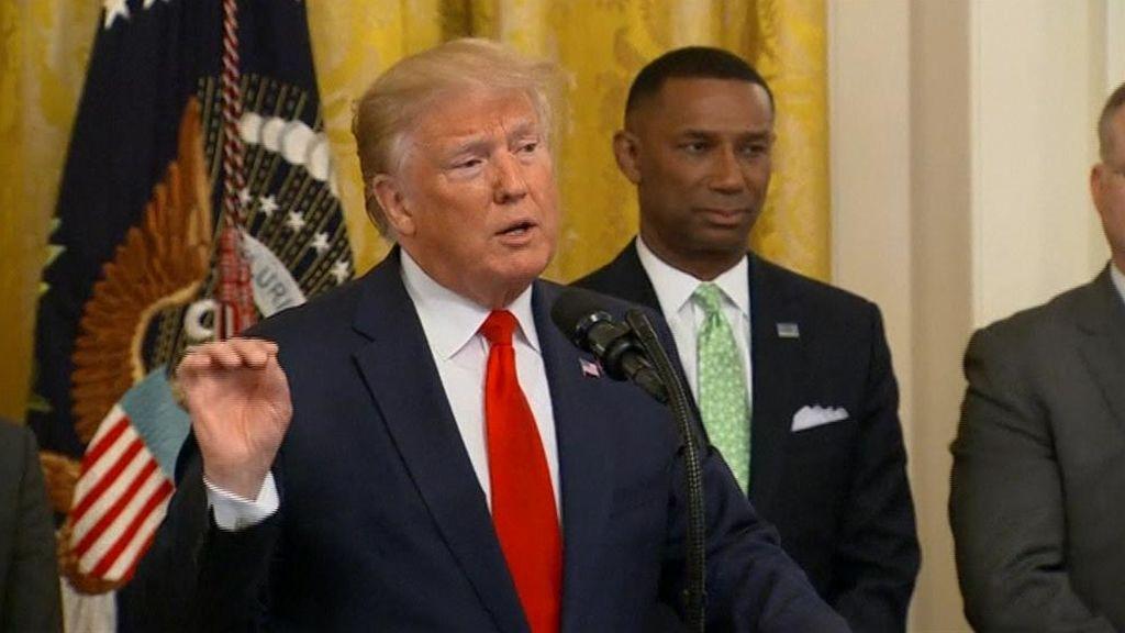 Trump anuncia el envío de 1000 soldados más a Oriente Próximo en plena escalada de tensión con Irán