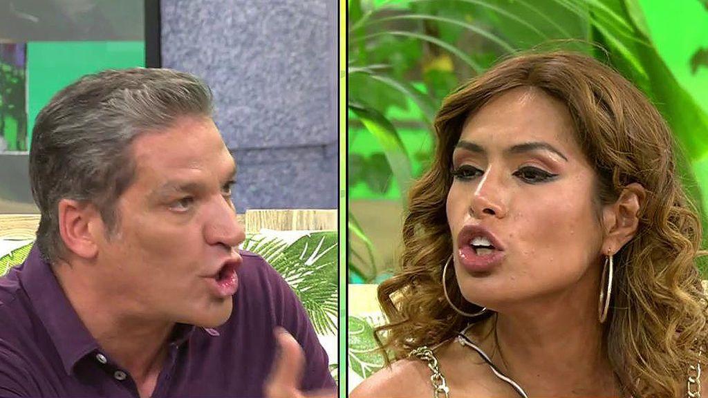 """El pique de Miriam Saavedra con Gustavo González: """"Usted no hace periodismo, hace basurismo"""""""