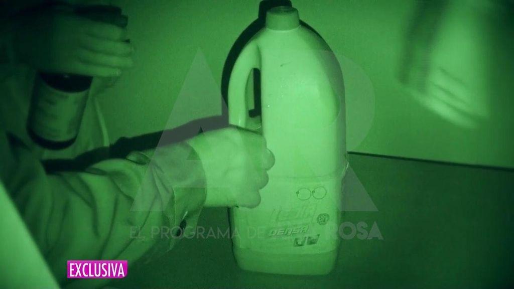 Las imágenes del registro en la casa del presunto asesino de Janet Jumillas