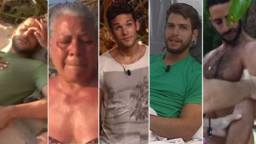 Violeta y otros concursantes que abandonaron 'Supervivientes' por problemas de salud