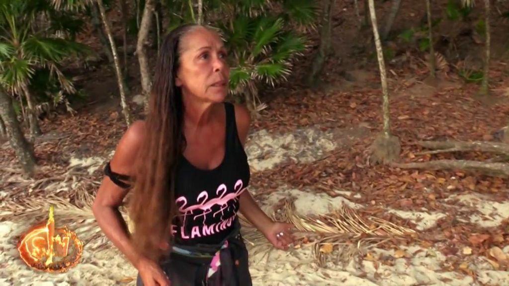 Isabel Pantoja se enfada con sus compañeros