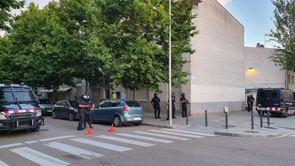 Operación antidroga en Barcelona