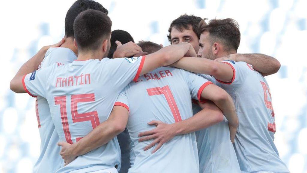 España gana in extremis y sigue con posibilidades de clasificarse para semifinales (2-1)