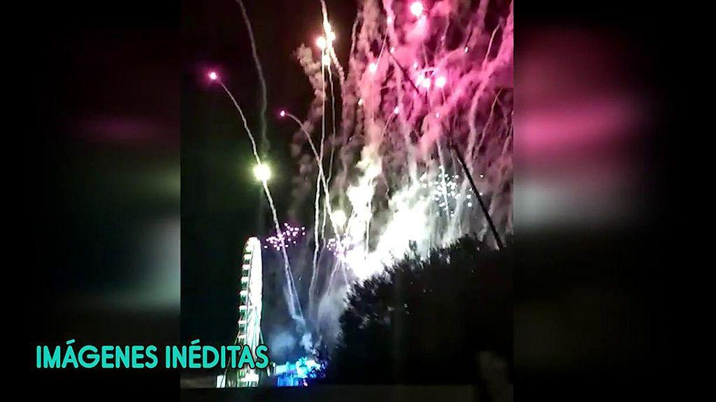 Los fuegos artificiales de la boda de Sergio Ramos y Pilar Rubio