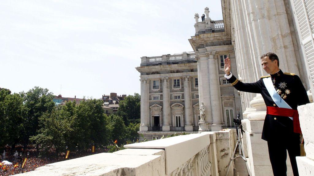 Felipe VI cumple cinco años como rey de España