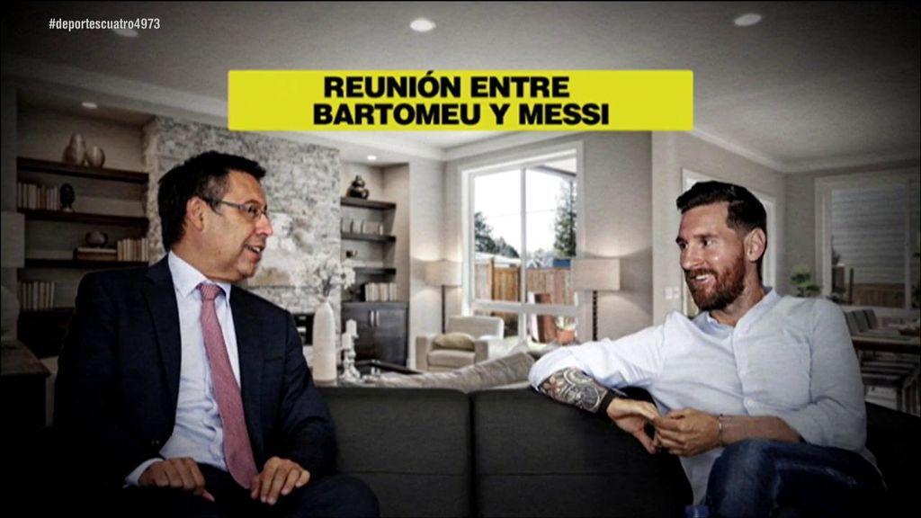 Messi se reunió con Bartomeu para aconsejarle el fichaje de Neymar y no el de Griezmann