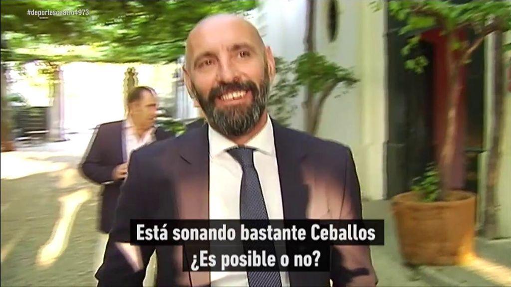 La respuesta de Monchi ante la posibilidad de que el ex bético Ceballos firme por el Sevilla