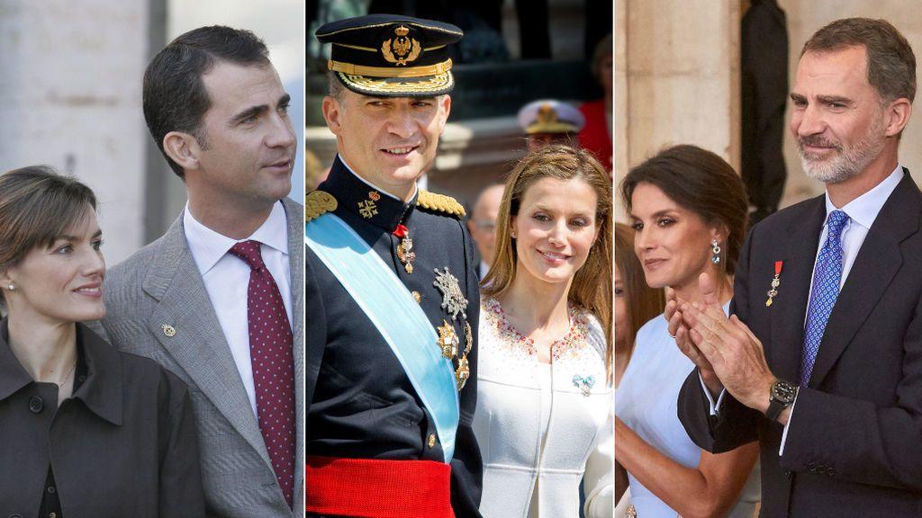 Aciertos y errores del estilo de Felipe y Letizia en sus cinco años de reinado