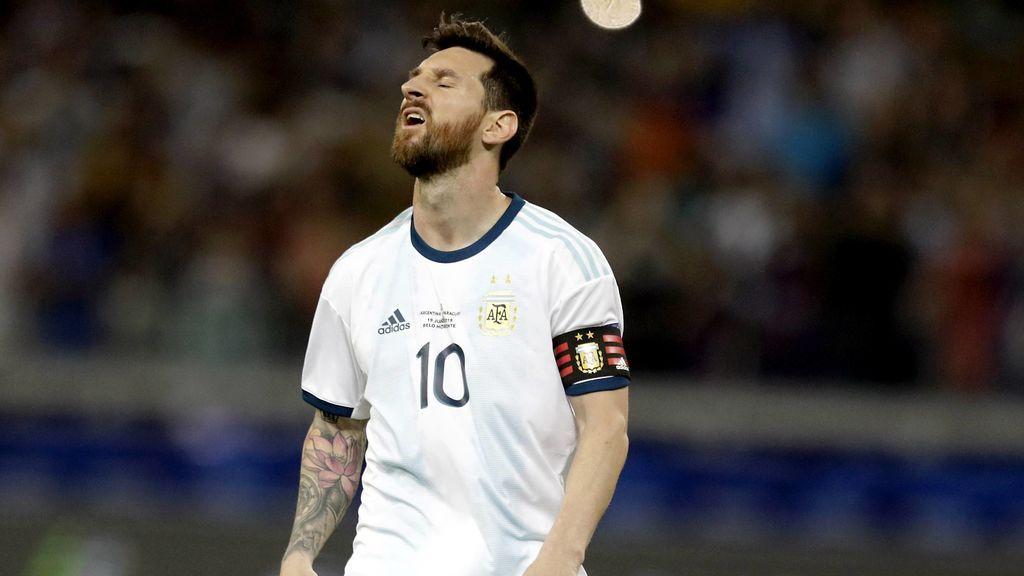 """Se complica la Copa America de Messi: """"Tenemos que ganar por lo menos un partido para pasar"""""""