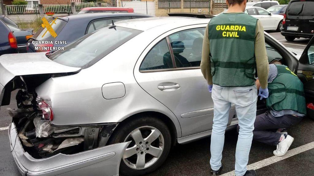 Tres guardias civiles, heridos al intentar evitar que un coche circulara en sentido contrario