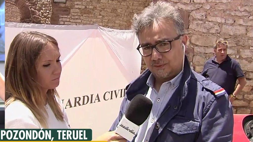 """El alcalde de Pozondón, donde han hallado a una mujer muerta en un armario: """"Todo el pueblo está conmocionado"""""""