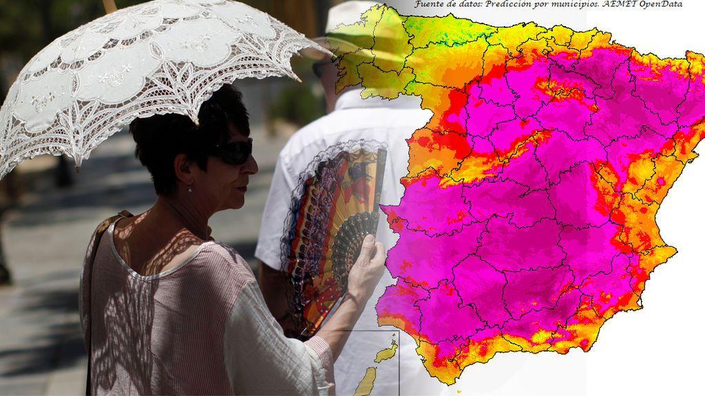 Episodio de mucho calor a la vista: podríamos superar los 40ºC la semana que viene
