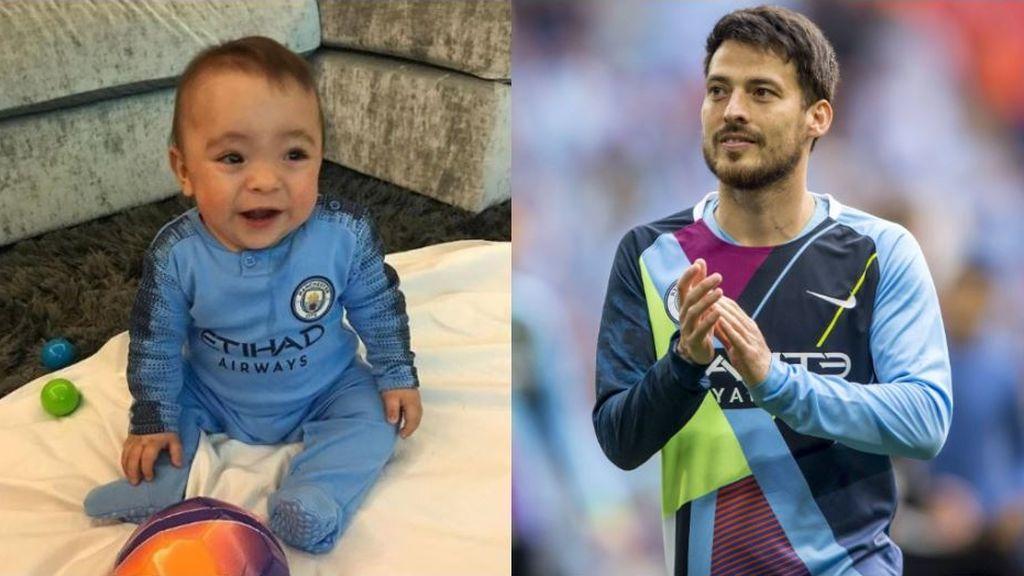 """David Silva se lo pasa 'pipa' con su hijo durante sus vacaciones: """"Ser padre es ser niño otra vez"""""""