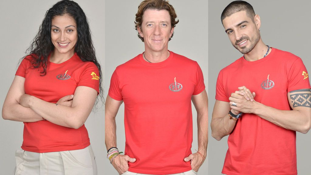 Colate, Fabio y Dakota, nominados de 'Supervivientes 2019'