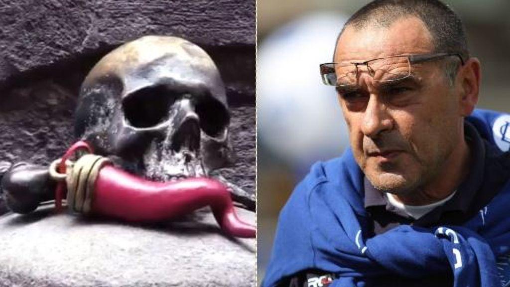El vídeo envenenado de los seguidores del Nápoles a Sarri en su regreso al Calcio